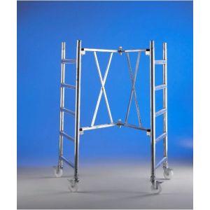 Trabattello alluminio Roller modulo A Altezza L. 2.96 mt