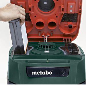 Aspiratore polveri e liquidi Metabo con scuotimento filtri elettronico ASR35L