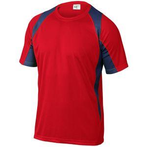 Maglietta da Lavoro Traspirante Rossa Deltaplus  In Stock