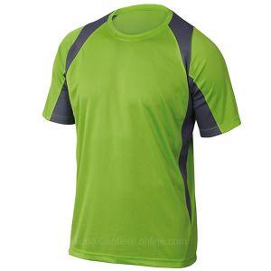 Maglietta da Lavoro Traspirante Verde Panoply