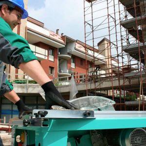Banco sega legno da cantiere Imer H110