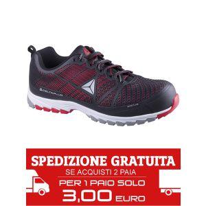 Scarpa antinfortunistica Delta Sport S1P HRO SRC Rossa