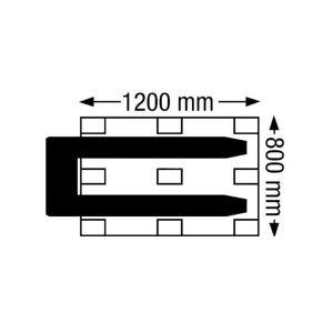 Transpallett manuale con Pesatore portata 20 Q.li Lifter