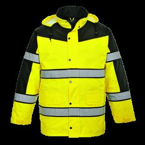 Giacca classica bicolor ad alta visibilità Portwest  - S462YERL - Giallo