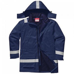 Giacca invernale antifiamma antistatica Portwest  - FR59NARL - Navy