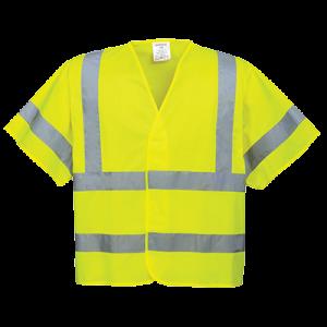 Gilet a maniche corte ad alta visibilità Portwest  - C471YERL/XL - Giallo