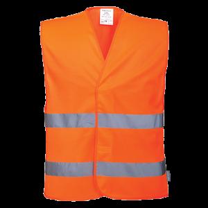 Gilet ad alta visibilità con due bande Portwest  - C474ORR4X/5X - Arancio