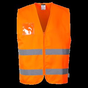 Gilet alta visibilità poli-cotone Portwest  - C497ORRL - Arancio