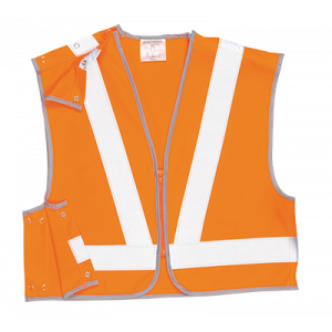 Gilet corto ad alta visibilità Portwest  - RT21ORRS - Arancio