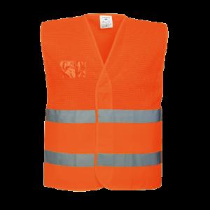 Gilet mezza rete ad alta visibilità Portwest  - C494ORR4X/5X - Arancio