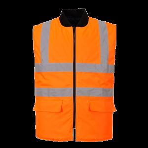 Gilet reversibile ad alta visibilità Portwest  - S469ORR4XL - Arancio