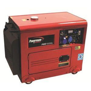 Gruppo elettrogeno diesel Monofase Powermate PMD50000S