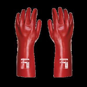Guanti in PVC Portwest  - A435RERXL - Rosso