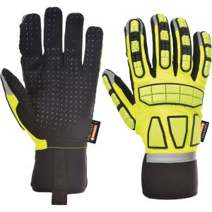 Guanti safety foderati Portwest  - A725YERL - Giallo