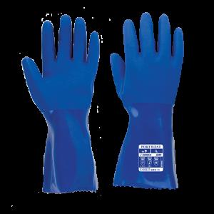 Guanto armato 30cm Portwest  - A880BLUL - Blu