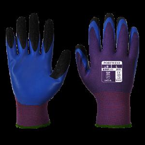 Guanto Duo-Flex Portwest  - A175U4RL - Viola-Blu