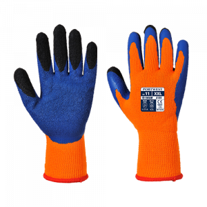 Guanto Duo-Therm Portwest  - A185O4RL - Arancio-Blu