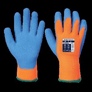 Guanto Grip Antifreddo Portwest  - A145OBLL - Arancio-Blu