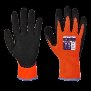 Guanto Grip Soft Thermal Portwest  - A143O8RXL - Arancio-Nero