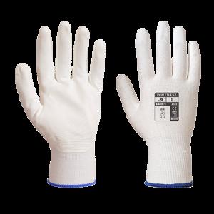 Guanto Nero Grip Portwest  - A125WHRL - Bianco