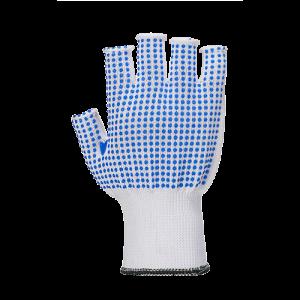 Guanto senza dita polkadot Portwest  - A114W4RL - Bianco-Blu