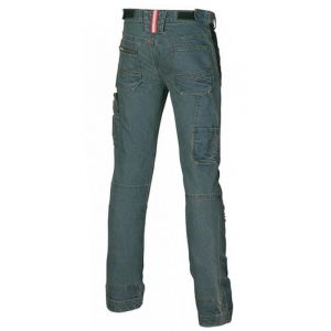 Pantaloni da lavoro in Jeans Stretch U-Power