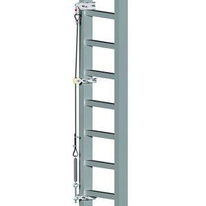 Kit Linea Vita verticale per scale da 4 a 12 mt ASCAB