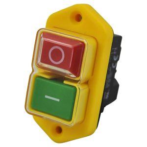 Interruttore di comando e sicurezza, impermeabile e a 4 pin
