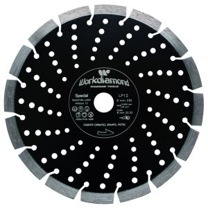 Disco smeragliatrice per Cemento armato e granito 230-mm