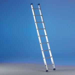 Scala semplice d'appoggio con tronco di salita a pioli Luxe1