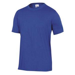 Maglietta da lavoro in cotone napoli azzurra