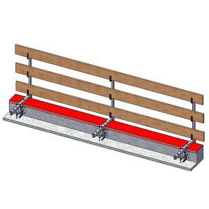 Parapetti anticaduta per piani orizzontali, verticali e inclinati