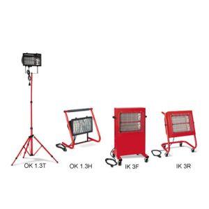 Riscaldatori elettrici a raggi infrarossi bm2