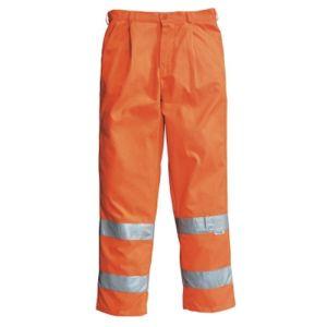 Pantalone arancio alta visibilita'
