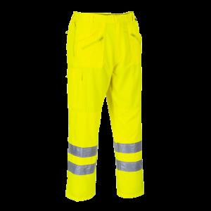 Pantaloni Action ad alta visibilità Portwest  - E061YERL - Giallo