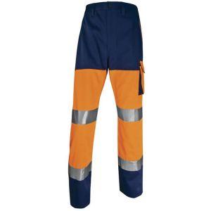 Pantaloni alta visibilità Deltaplus  Arancio
