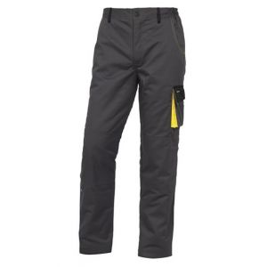 Pantalone Deltaplus Grigio e giallo
