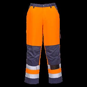 Pantaloni Lyon alta visibilità Portwest  - TX51YNR4XL - Giallo-Navy