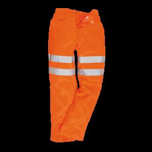 Pantaloni Poly-cotton RIS ad alta visibilità Portwest  - RT45ORR4XL - Arancio