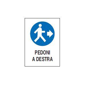 Pedoni a destra