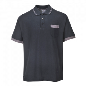 Polo Portwest Texo Contrast Portwest  - TX20BKR4XL - Nero