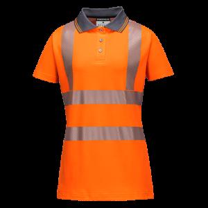 Polo Shirt Donna Pro Portwest  - LW72ORRL - Arancio