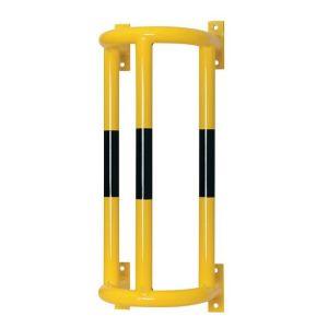 Protezione verticale per tubazioni con fissaggio al muro