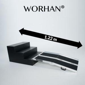 Rampa chiudibili per carichi leggeri antiscivolo da 122 cm