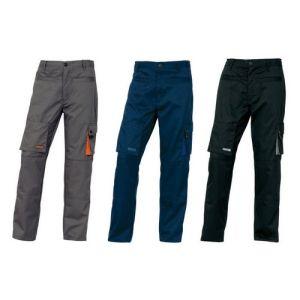 Pantaloni da lavoro Grigio Deltaplus FELPATO