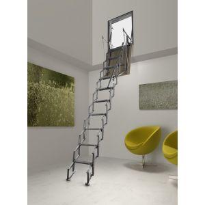 Scala retrattile in Alluminio a parete