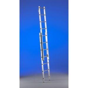 Scaletta regolabile in alluminio per trabattelli