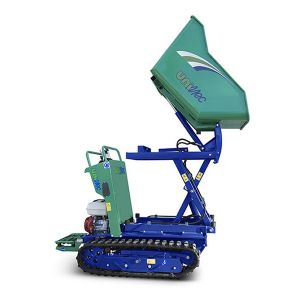 Mini Trasportatore Portata 800 Kg scarico 1,5 m Benzina o Diesel