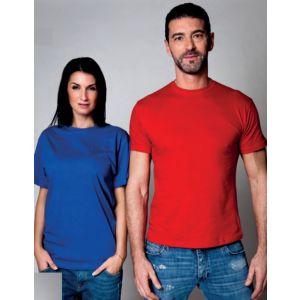 Maglietta T-shirt Girocollo per il lavoro in Cotone Jersey