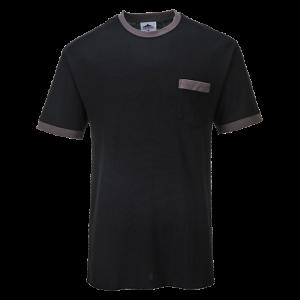 T-shirt a contrasto Portwest Texo Portwest  - TX22GRRL - Verde